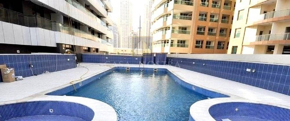11 Payment in 12 Chqs Furnished 1BR on Higher Floor