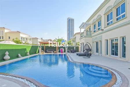4 Bedroom Villa for Sale in Jumeirah Village Triangle (JVT), Dubai - 4 Bedroom   Corner Plot   Private Swimming Pool  