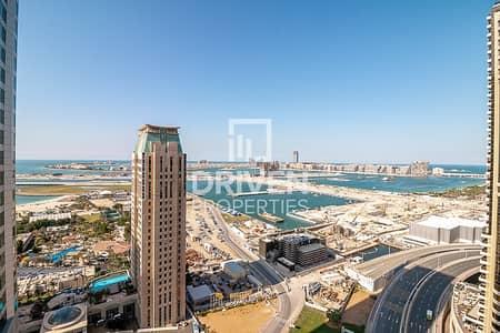 شقة 2 غرفة نوم للايجار في دبي مارينا، دبي - Impressive Unit with Nice Full Sea Views