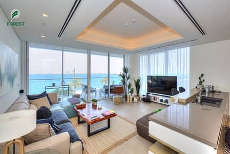 2 Bedroom Apartment for Sale in Palm Jumeirah, Dubai - Amazing 2 Beds with Full Sea and Burj Al Arab View
