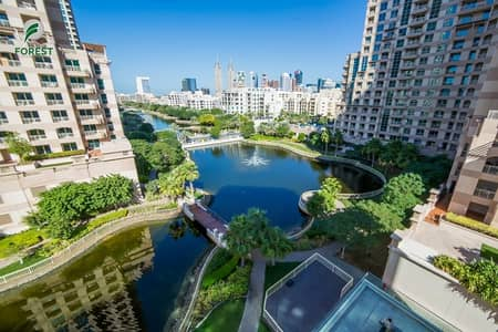 3 Bedroom Apartment for Rent in The Views, Dubai - Full Canal View 3 BR with Maids Room and 2 Parking