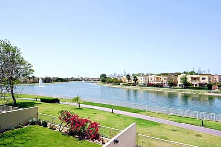 3 Bedroom Villa for Rent in The Springs, Dubai - EXCLUSIVE! Lake View Type 2E Refurbished