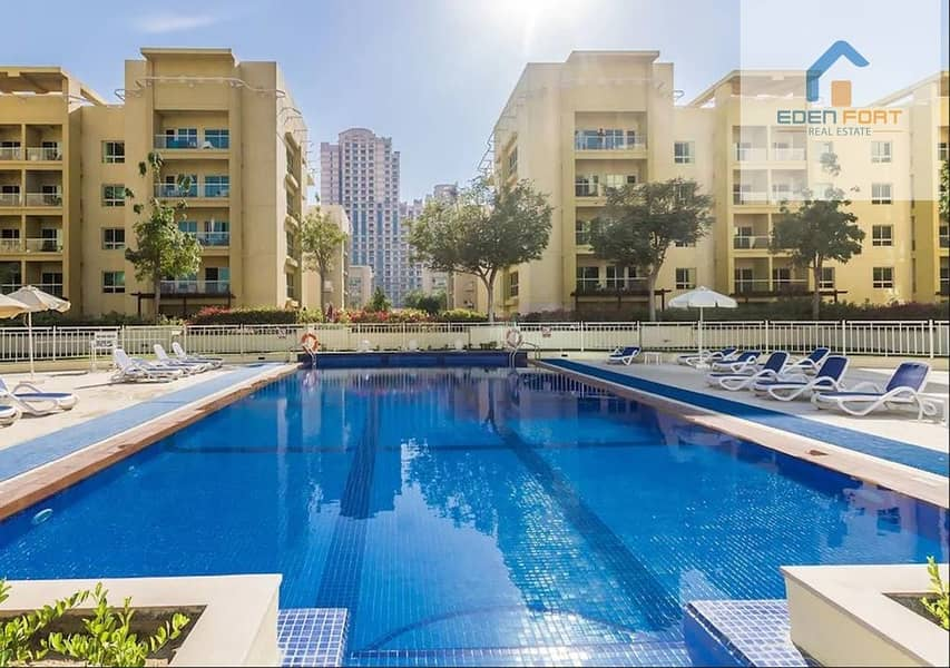 2 1BHK | Garden View | Al Dhafrah 3 | Greens