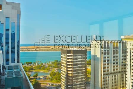 3 Bedroom Flat for Rent in Liwa Street, Abu Dhabi - Delightful Apartment with Dazzling Sea View