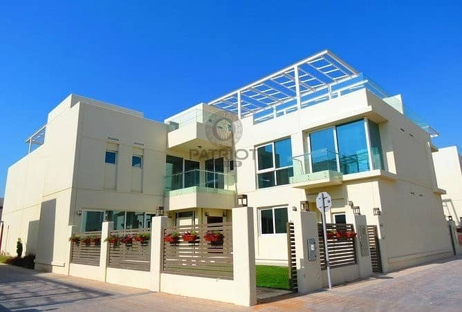 Specious 4 BR villa for rent in sustainable city