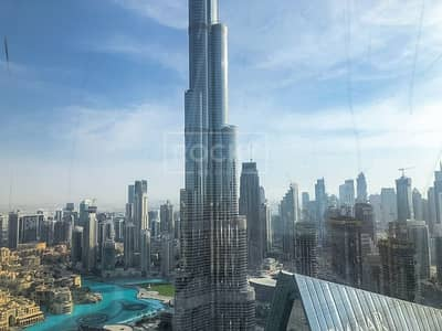 2 Bedroom Apartment for Rent in Downtown Dubai, Dubai - 5 Star Service Apartment   2-Bed   Burj Khalifa