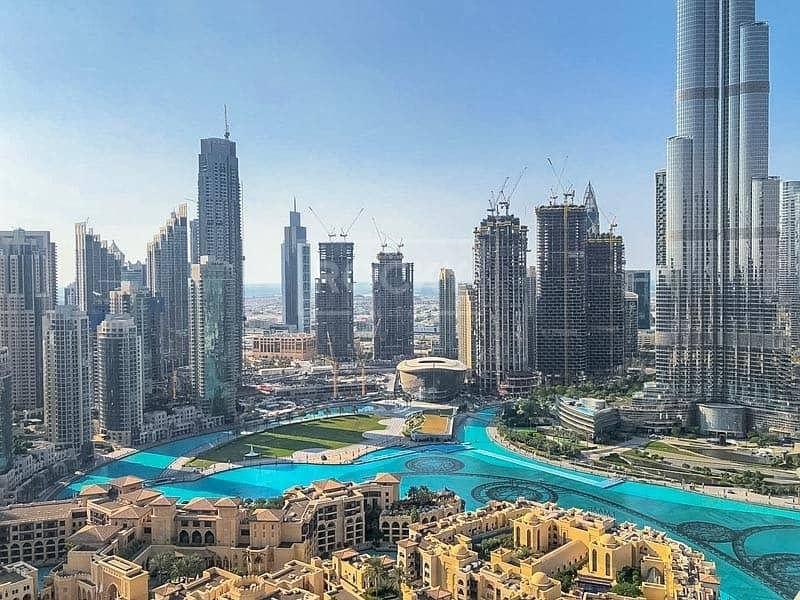 2 270 Degree Burj Khalifa View | Spacious | Higher Floor