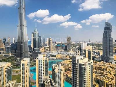 فلیٹ 3 غرف نوم للايجار في وسط مدينة دبي، دبي - Brand New | 3-Bed | Higher Floor | Burj Khalifa View