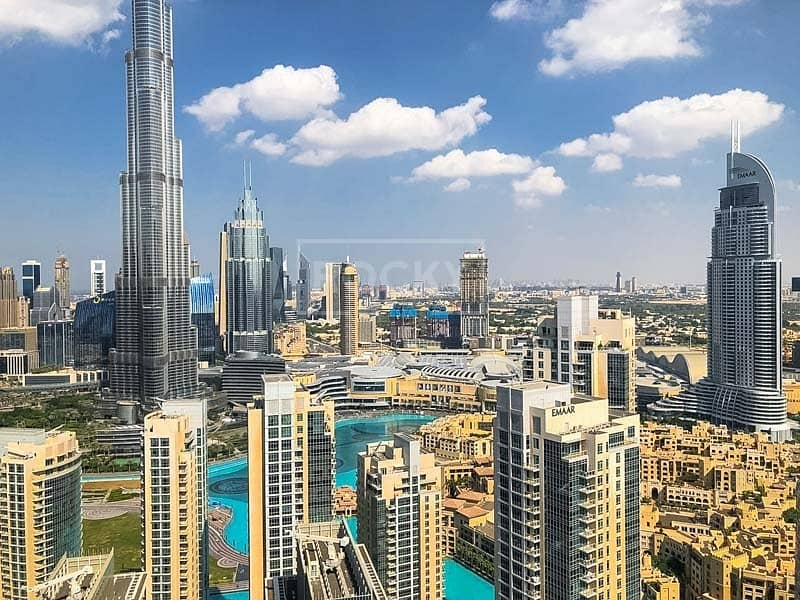 Brand New | 3-Bed | Higher Floor | Burj Khalifa View