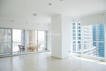 1 Bedroom Apartment for Rent in Jumeirah Lake Towers (JLT), Dubai - AMAZING HUGE SIZE ONE BED ROOM APARTMENT