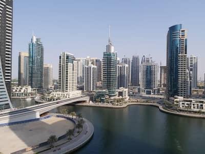 فلیٹ 2 غرفة نوم للبيع في دبي مارينا، دبي - 2 bedroom for sale in Blakely Tower with full marina view