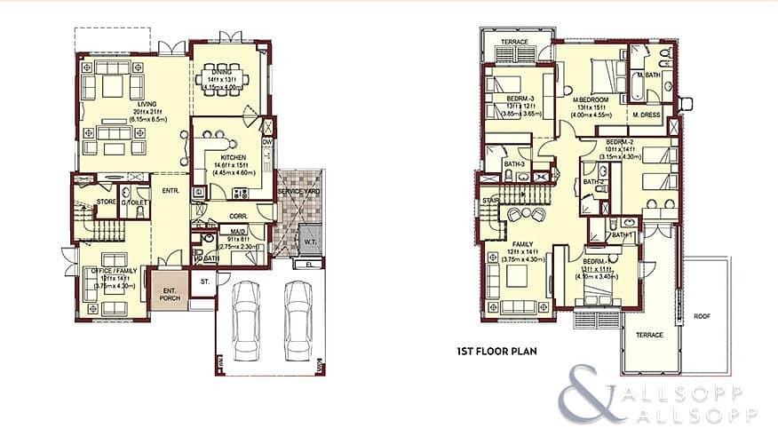 10 Lantana | Type 4D1 | Single Row | 4 Beds