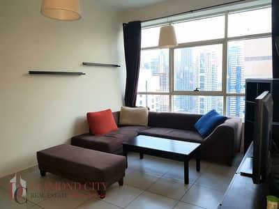 فلیٹ 2 غرفة نوم للايجار في دبي مارينا، دبي - Fully Furnished * Good views  * High floor
