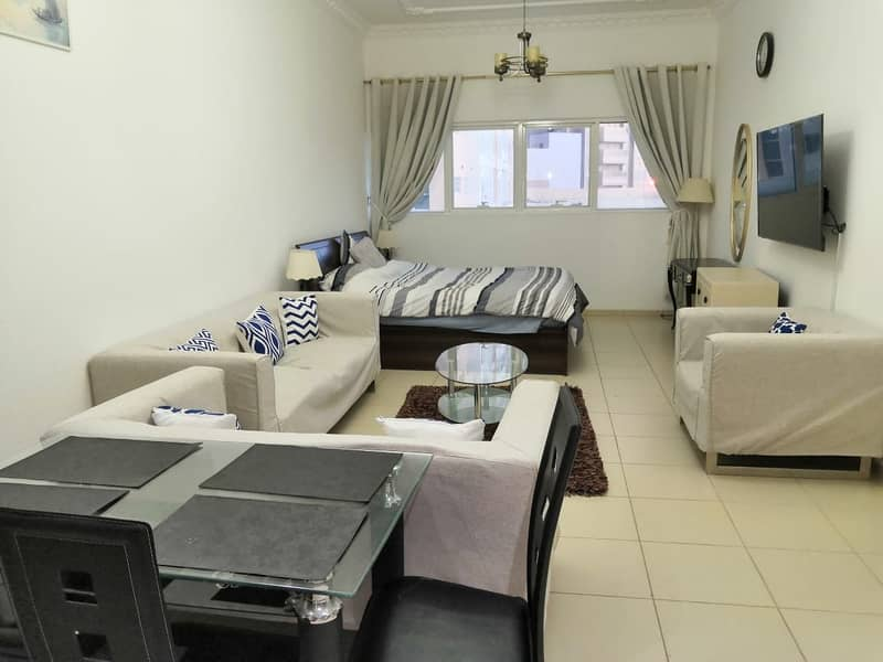 Beautiful studio for rent in ajman one towers