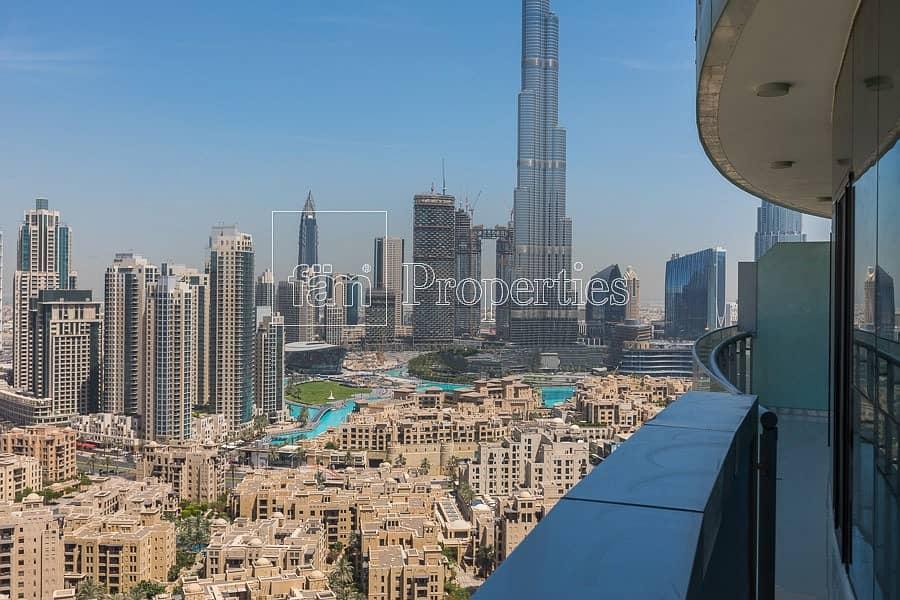 Large layout   Burj Khalifa view   High floor