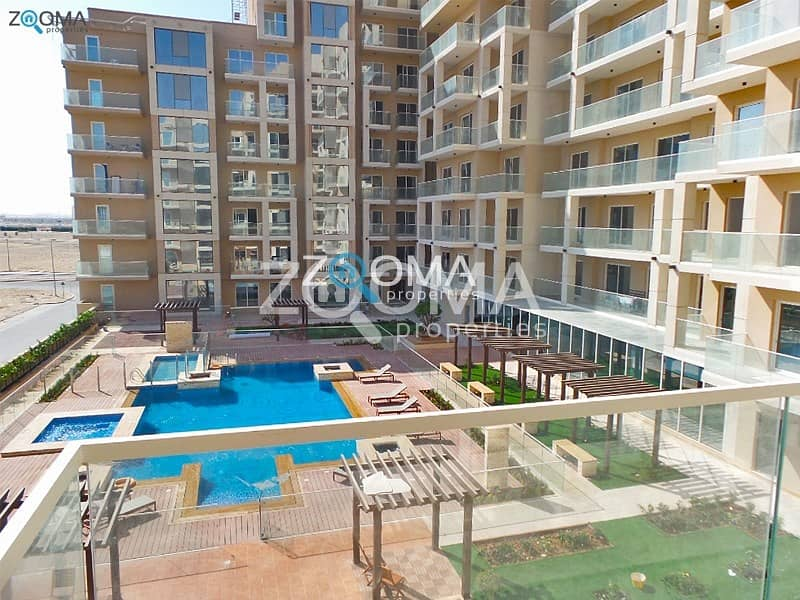 2 Luxury Huge 2 BR with Relaxing Pool view