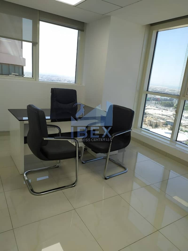 2 Furnished Luxurious Office in Aspin Tower