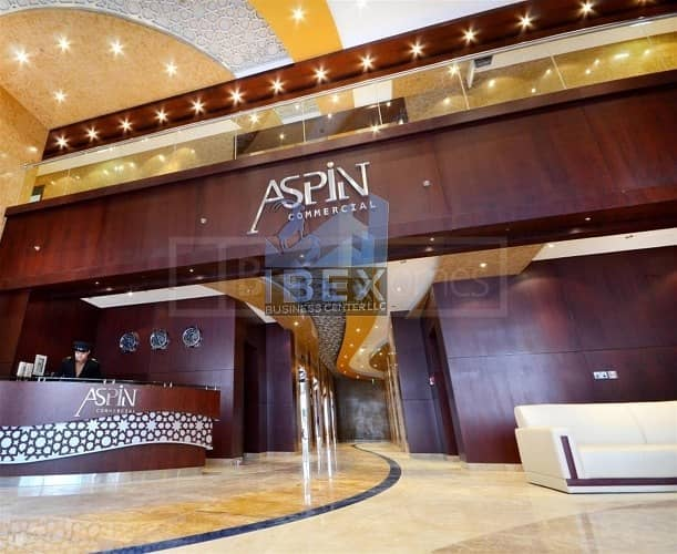 14 Furnished Luxurious Office in Aspin Tower