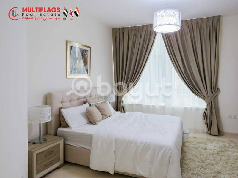 In 1 Bedroom Pay 3,200 AED and Move In Same Day :