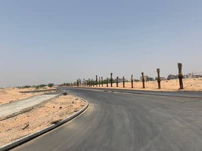 Plot for Sale in Al Aaliah, Ajman - land Commercial for sale global city ajman Installments 3 years free hold
