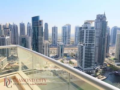 فلیٹ 1 غرفة نوم للايجار في دبي مارينا، دبي - Amazing Marina Views * superb terrace * AC inc
