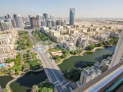 1 Bedroom Apartment for Rent in The Views, Dubai - Well maintained | Lake view | Chiller free