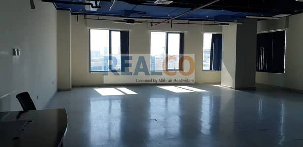 Office for Rent in Dubai Silicon Oasis, Dubai - Ready Office with Wooden Floor &  Ceiling/Higher Floor