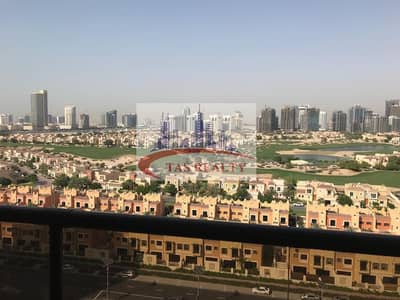 1 Bedroom Flat for Sale in Dubai Sports City, Dubai - Fully furnished 1 BHK with Golf view for urgent sale