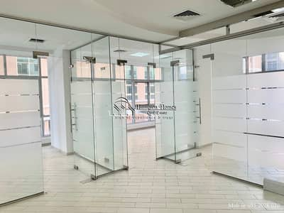 Office for Rent in Al Barsha, Dubai - Ready office with Partitions + attached pantry toilet 1370sqft 90k 6 cheqs