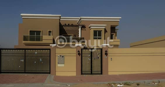 6 Bedroom Villa for Sale in Barashi, Sharjah - Brand New Villa for Sale in a great Finishing & Perfect Location