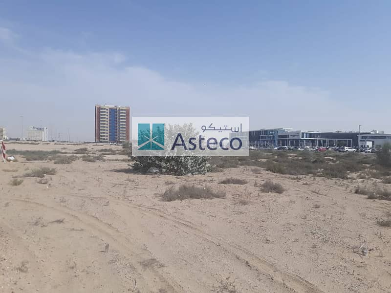 Ready Plot G+13  In Wadi Al Safa 5