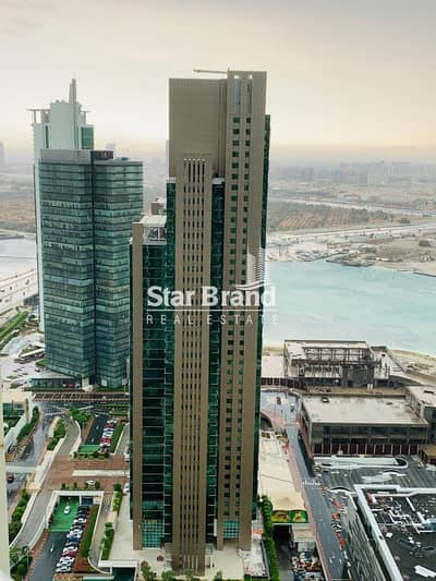 4 Bedroom Flat for Rent in Al Reem Island, Abu Dhabi - LOWEST PRICE! 4 BEDROOM PLUS MAMID ROOM WITH FULL SEA VIEW IN MAG 5 RESIDENCE