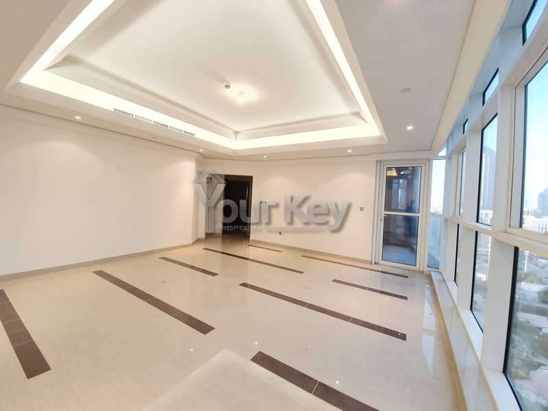 Close to Corniche beach and family parks and playgrounds