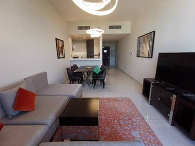 2 Bedroom Apartment for Rent in DAMAC Hills (Akoya by DAMAC), Dubai - Furnished 2BR+Maids|Golf View|1 Month Free