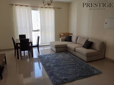 1 Bedroom Flat for Rent in Dubai Production City (IMPZ), Dubai - 1 BR | Furnished | Lakeside | Mid Floor | IMPZ