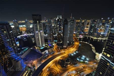 شقة 2 غرفة نوم للايجار في دبي مارينا، دبي - Modernly Furnished - Marina View - Vacant