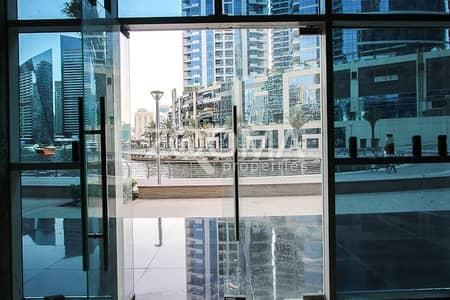 Shop for Rent in Dubai Marina, Dubai - Shop Along Marina Walk |Full Marina View