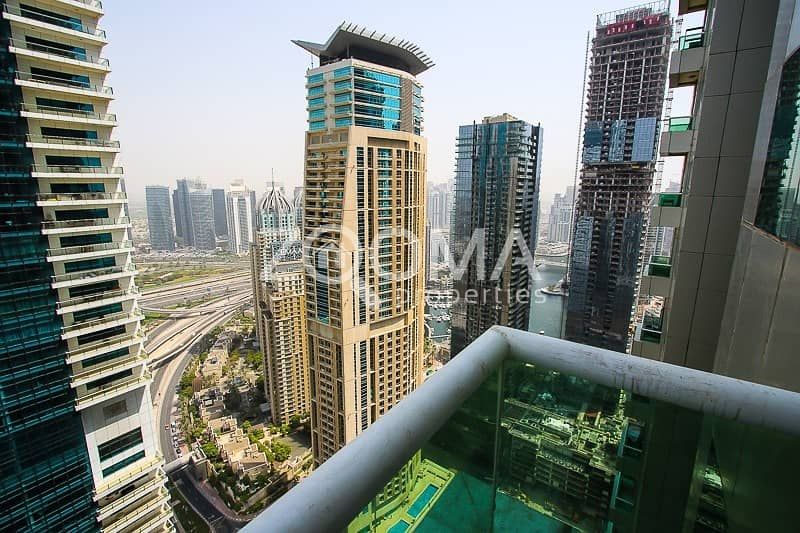 2BR with Stunning Marina View High Floor