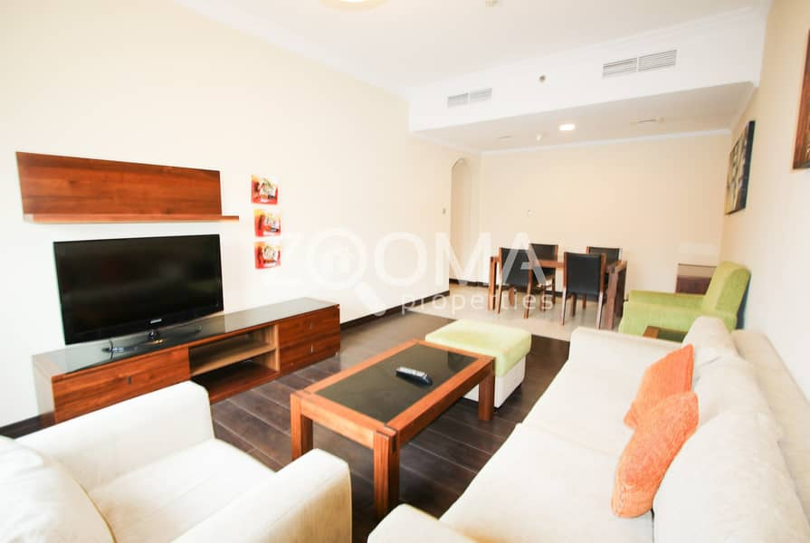 2 Furnished 2BR Multiple Chqs 1 Month FREE