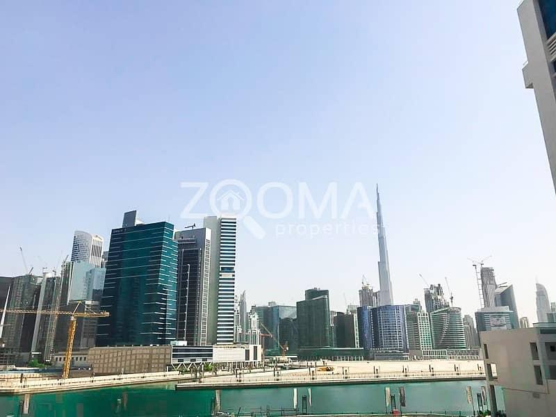 2 Luxurious| Dubai Canal & Burj Khalifa View