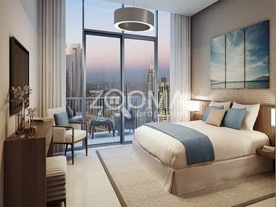 Luxurious Tower Partial BurjKhalifa View