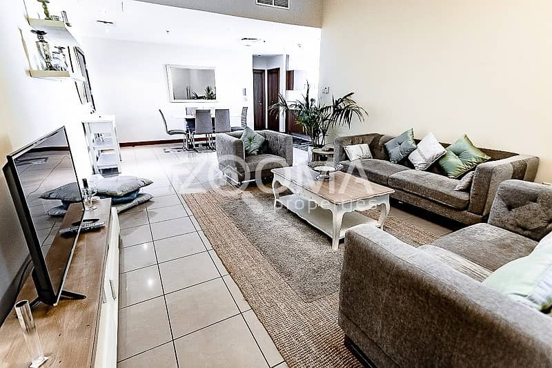 2 Vacant|Luxrious Furnished 2BR|High Floor