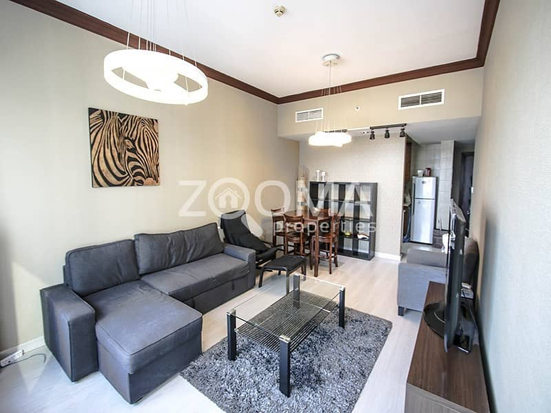 2 Stunning 1BR | w/ Relaxing View | Furnished