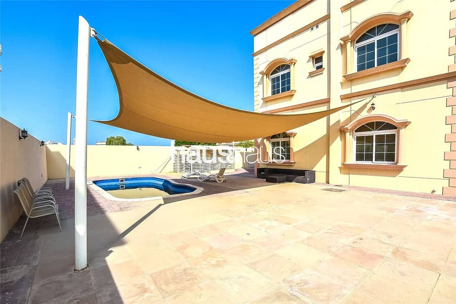2 Huge plot   Private Pool   4 BR + Maids