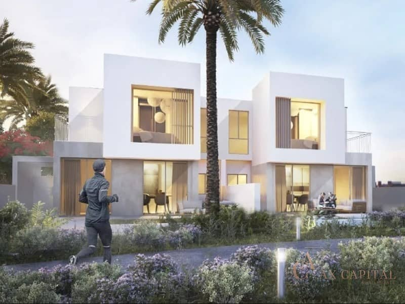 2 Modern villa | On The Park | 5 BR+M | DH