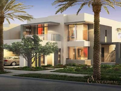 4 Bedroom Townhouse for Sale in Dubai Hills Estate, Dubai - Park view I 4 Bedroom Townhouse I Maple 3