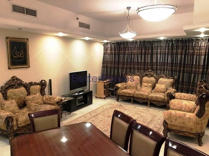 2 Furnished 4 BR | High Floor | Chiller Free