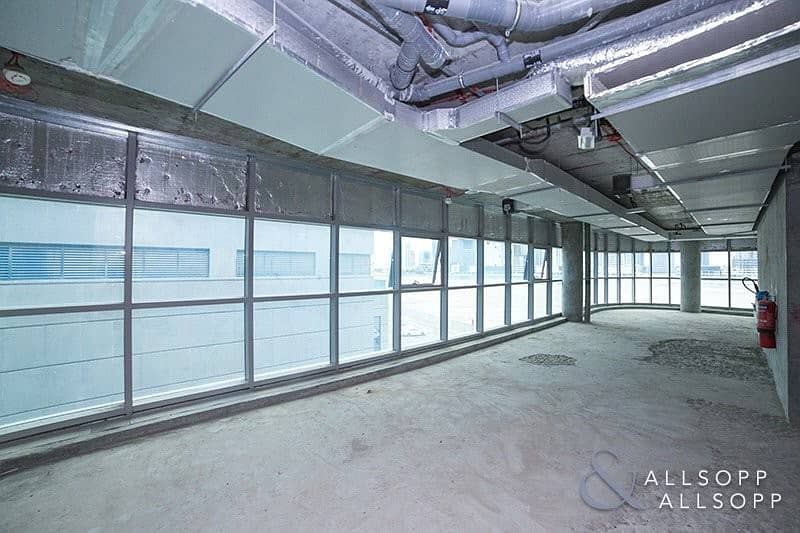 Shell and Core | End Unit | Bright Office
