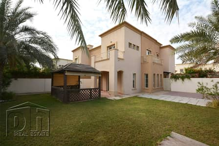 3 Bedroom Villa for Rent in The Springs, Dubai - Springs 3 Type 2E Partial Lake View