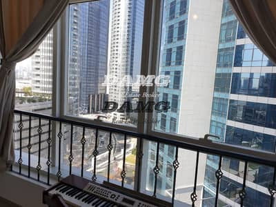 Studio for Rent in Al Reem Island, Abu Dhabi - Monthly payments fully furnished  studio in Al Reem island